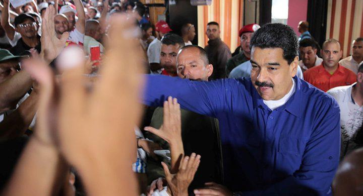 مادورو يفوز بانتخابات الرئاسة في فنزويلا