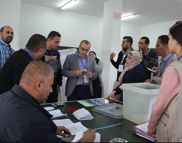 انتخاب مجالس شبابية في جنوب الضفة الغربية