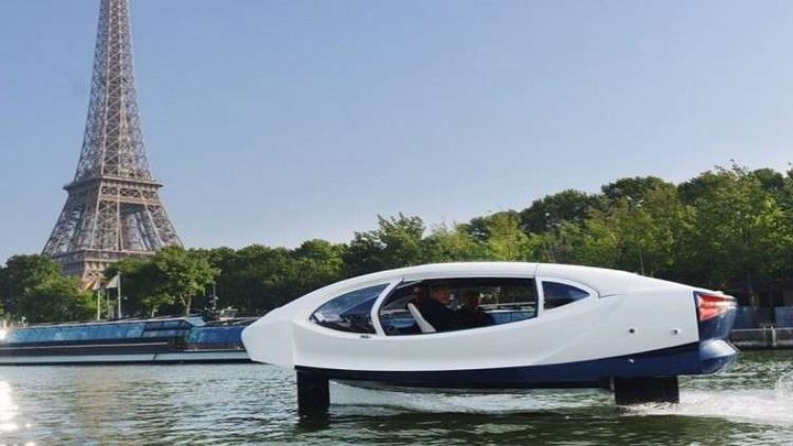 فرنسا تجري أول رحلة تجريبية للتاكسي البحري