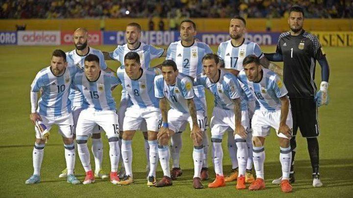 مفاجأة في قائمة الأرجنتين النهائية لمونديال روسيا