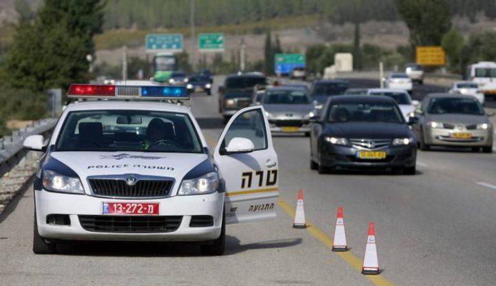 خلال اسبوع... 607 مخالفة مرورية سجلتها الشرطة الاسرائيلية