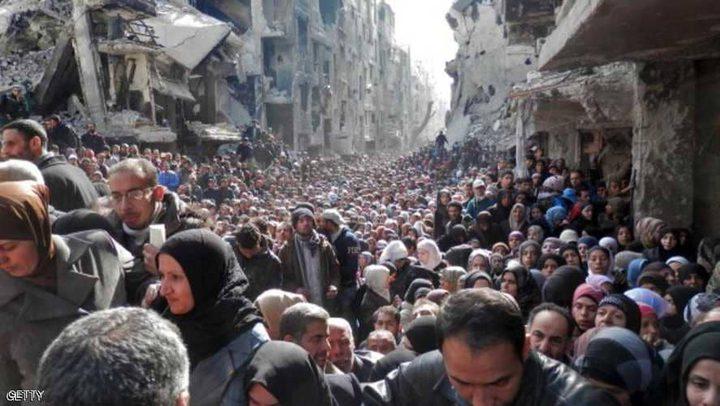 """""""الأونروا"""": لن يستطيع سكان مخيم اليرموك العودة إلى منازلهم بسبب الدمار الكبير"""