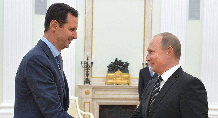 """عرض إسرائيلي ــ أميركي بوساطة بوتين للأسد.. إخراج إيران و""""حزب الله"""" من سوريا"""