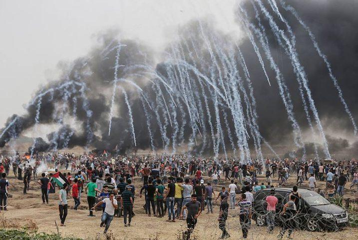 """الاحتلال يكشف تشكيله وحدة عسكرية لـ""""مكافحة"""" مسيرة العودة"""