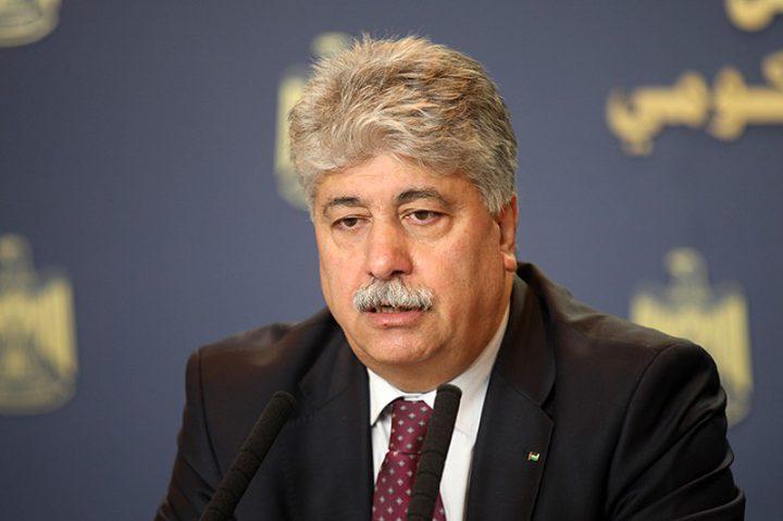 مجدلاني لدى لقاء سفيرتي بلجيكا واستراليا: دولة فلسطين جادة بإجراءاتها القانونية التي كفلها القانون الدولي
