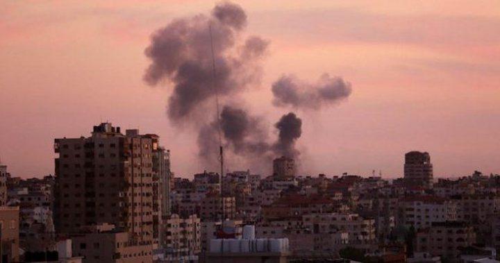 طائرات الاحتلال تقصف أهدافاً في مدينة غزة وجباليا
