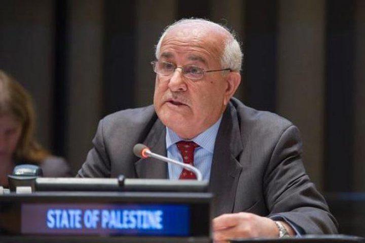 السفير منصور: جلسة هامة يعقدها مجلس الأمن للنظر في الأحداث الأخيرة بفلسطين