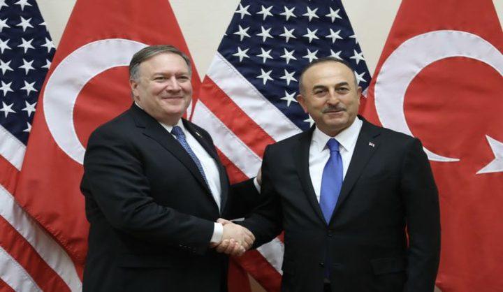 بومبيو: سألتقي وزير خارجية تركيا لمناقشة الملف السوري