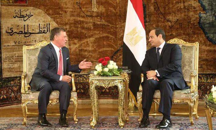 الملك عبد الله الثاني في زيارة غير معلنة الى القاهرة