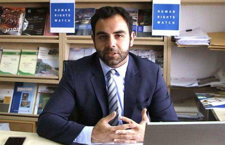 """محكمة تعلق إلغاء """"إسرائيل"""" لتأشيرة عمل ممثل هيومن رايتس ووتش"""