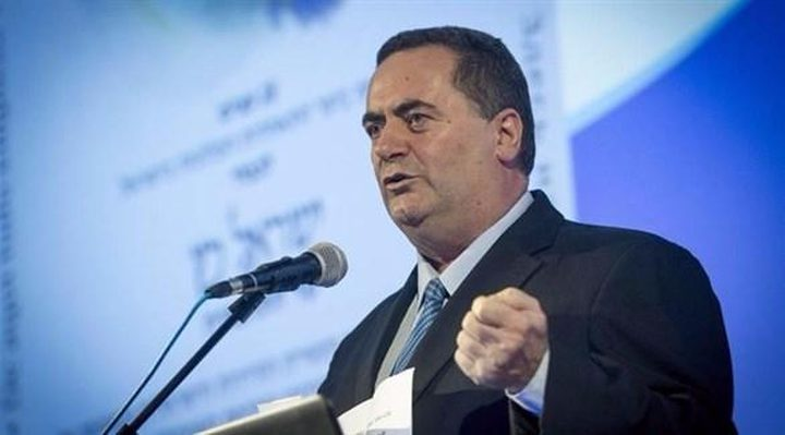 """وزير في حكومة الإحتلال: أمريكا قد تعترف قريباً بسيادة """"إسرائيل"""" على الجولان"""