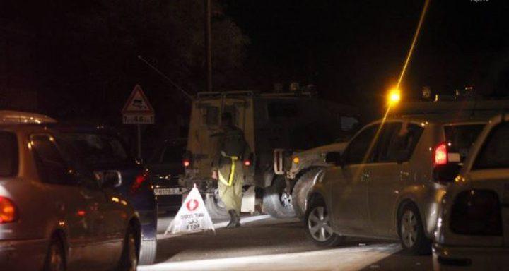 إصابة مواطنين برصاص الاحتلال جنوب نابلس