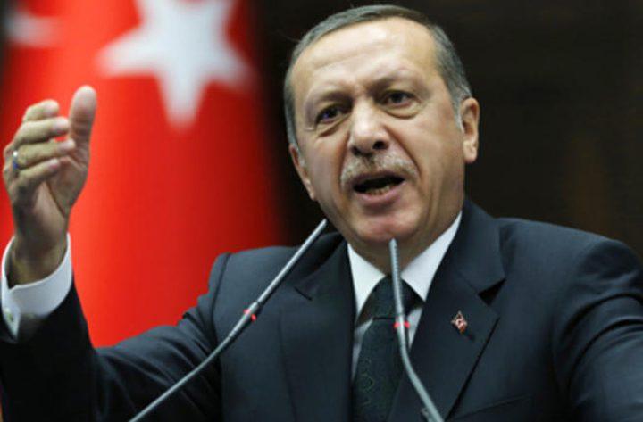أردوغان: القدس عاصمة فلسطين ونقل السفارة لن يغير ذلك