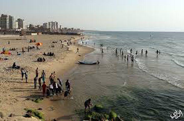 شواطئ بحر غزة ملوثة بنسبة 75٪