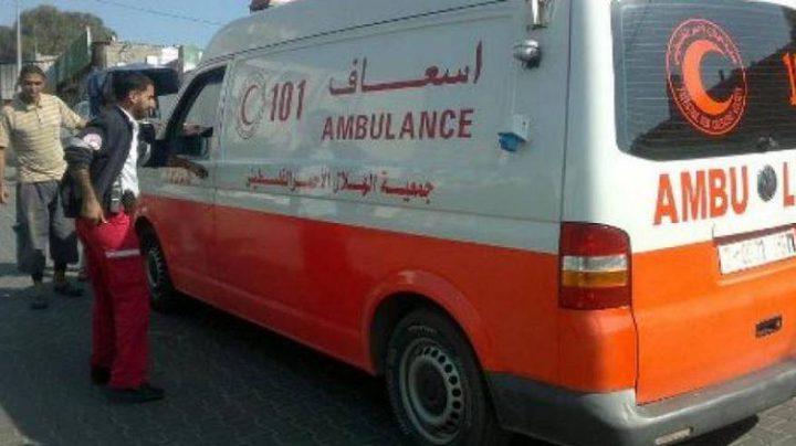 مصرع مواطنة وإصابة 4 في حادث سير شمال الخليل
