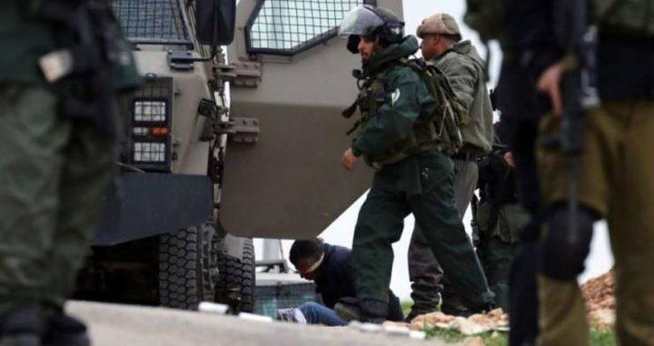 الاحتلال يعتقل 4 شبان من برطعة