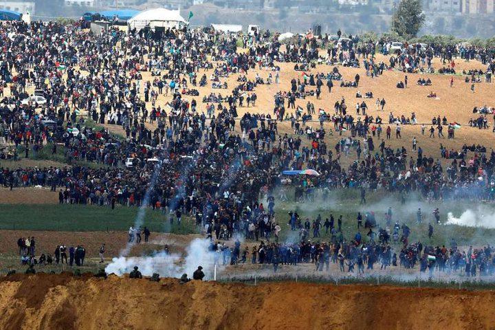 """غزة تستعد للجمعة التاسعة من """"مسيرة العودة الكبرى"""""""