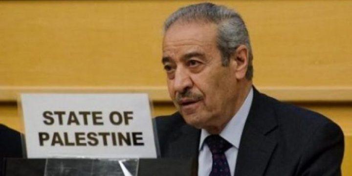 """تيسير خالد: """"صفقة القرن"""" مشروع أمريكي لتصفية القضية الفلسطينية"""