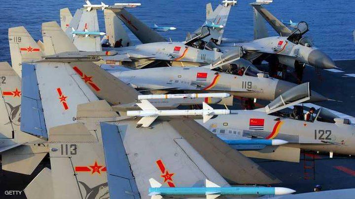 """الصين تستعرض عضلاتها العسكرية بـ""""مناورة جوية معقدة"""""""