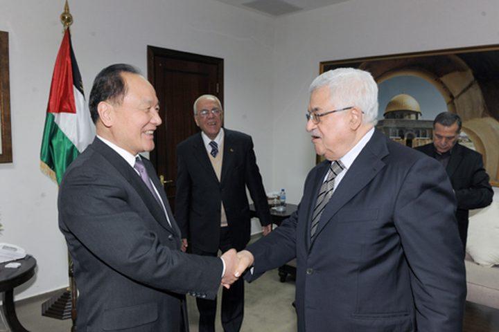 الرئيس يستقبل المبعوث الصيني للشرق الأوسط
