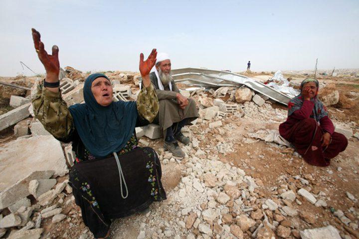 الاحتلال يُقرر هدم تجمع الخان الاحمر وترحيل سكانه