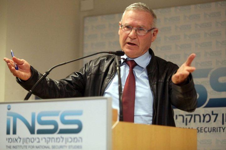 """يدلين: """"إسرائيل"""" مستعدة لهدنة قصيرة مع حماس ولكن بشرط"""