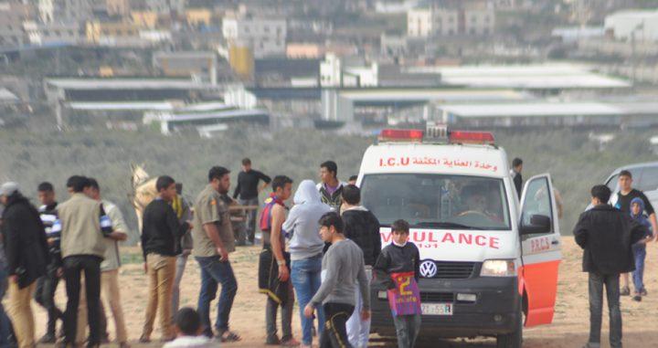 إصابة شابين برصاص الاحتلال شرق غزة