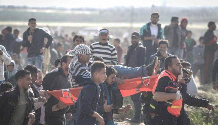 إصابة 3 مواطنين برصاص الاحتلال شرق حي الزيتون