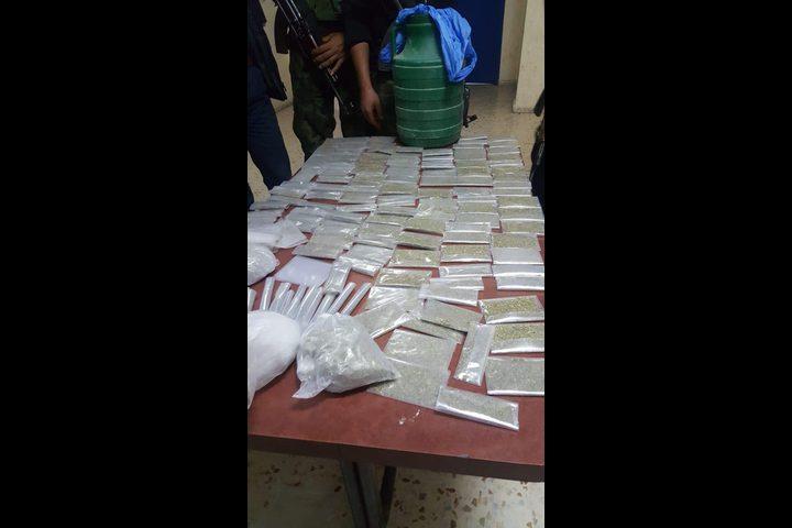 شرطة الخليل تضبط كيلو ونصف مخدرات في يطا