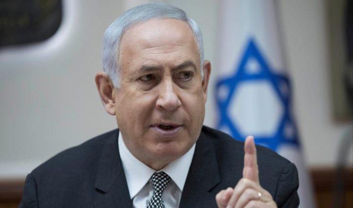 نتنياهو يهدد غزة وسوريا ولبنان وايران