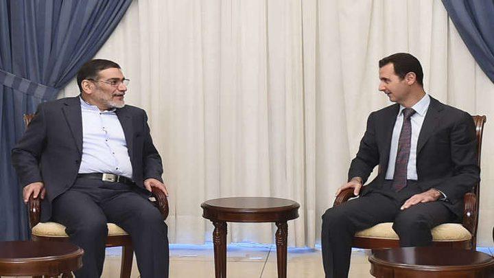 شمخاني يؤكد استمرار التواجد الإيراني في سوريا