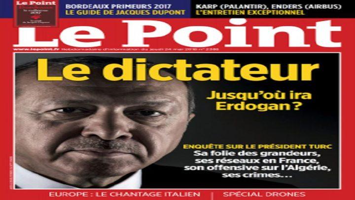 """صحيفة فرنسية تصف أردوغان بـ""""هتلر الجديد"""""""