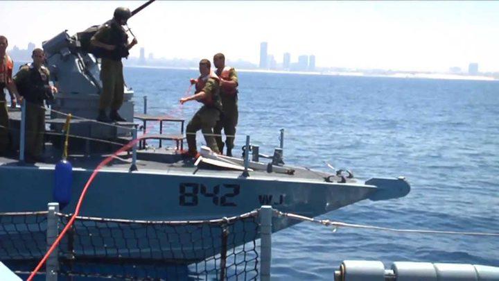 الإحتلال يشرع ببناء جدار بحري بزعم منع تسلل فلسطينيين ومسلحين من غزة