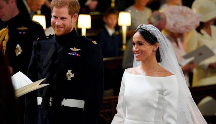 ميغان جعلت هاري يبكي يوم الزفاف الملكي
