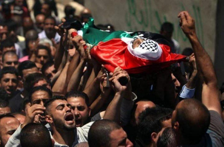 شهيد في قطاع غزة متأثراً بجراحه