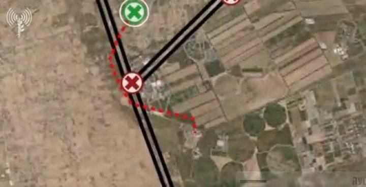 الاحتلال: قصفنا 30 هدفاً ودمّرنا نفقاً يمر بمصر ويصل لإسرائيل