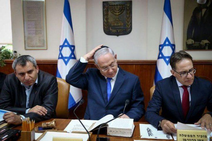نتنياهو يعقد جلسة مشاورات حول الوضع على حدود غزة