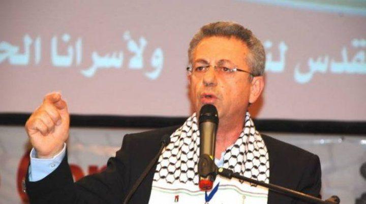 البرغوثي: القصف الاسرائيلي الوحشي على قطاع غزة لن يكسر المقاومة الشعبية