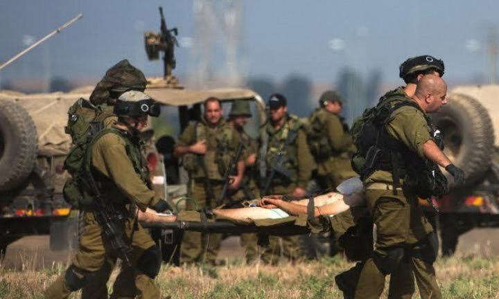 الإعلام العبري يزعم: 5 إصابات بينهم عناصر من قوات الاحتلال بشظايا قذائف أطلقت من غزة