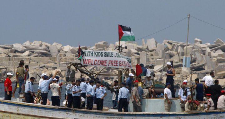 الاحتلال يفرج عن ركاب سفينة كسر الحصار
