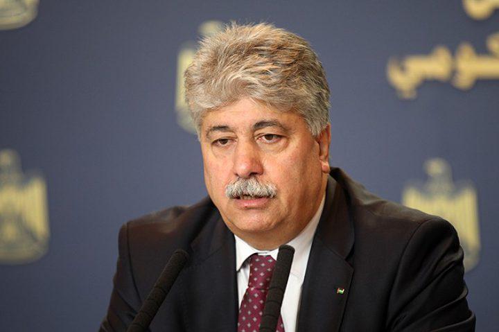 مجدلاني يدعو الأحزاب اليسارية والاشتراكية لتشكيل قوة ضاغطة للدفاع عن القضية الفلسطينية