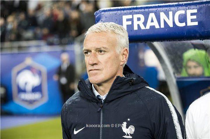ديشامب: لا أحمل مفاتيح المنتخب الفرنسي لزيدان