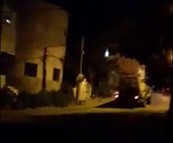 قوّات الاحتلال تعتقل  خمسة شبَّان في مدينة جنين