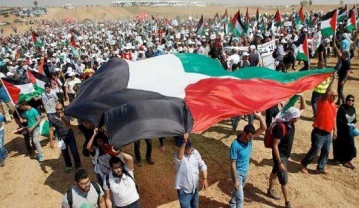 """الجماهير تستعد للجمعة العاشرة...""""من غزّة إلى حيفا...وحدة دم ومصير مشترك"""