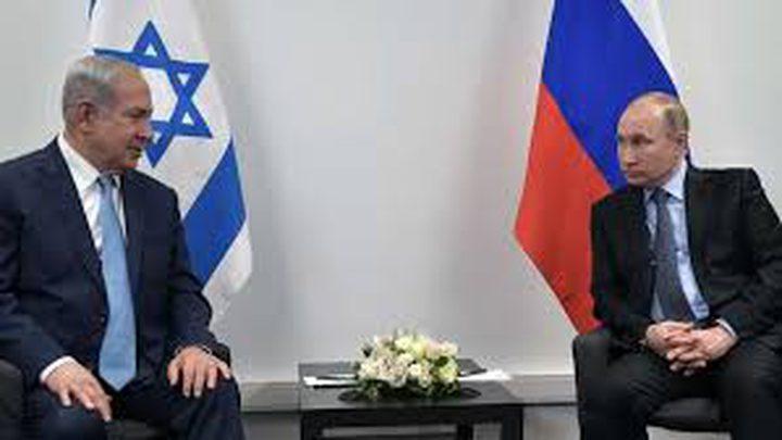 بوتين ونتنياهو يبحثان التموضع الإيراني في سوريا