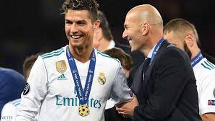 بماذا فاجئ لاعبو ريال مدريد زيدان بعد استقالته؟