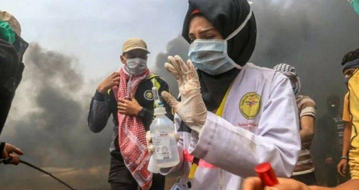 بيت لحم: وقفة تضامنية احتجاجا على إعدام المسعفة رزان النجار