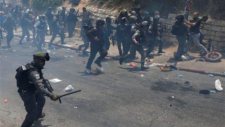 إصابة مواطنين بجروح خلال مواجهات مع الاحتلال ومستوطنيه في صوريف