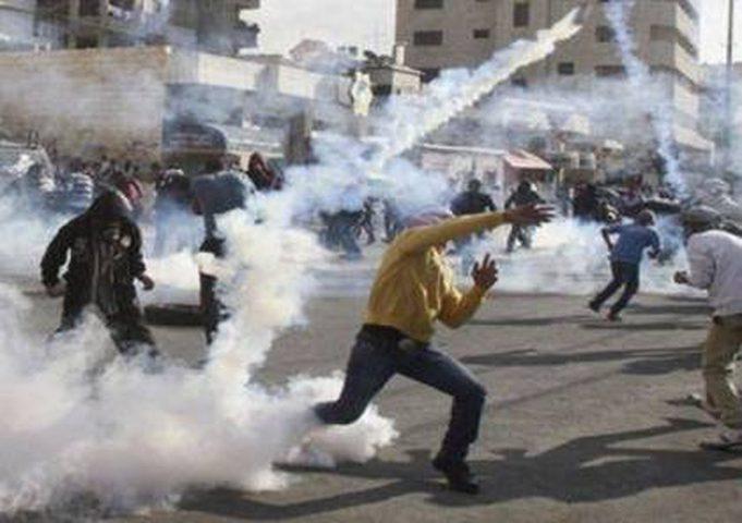 إصابة 3 مواطنين بجروح خلال مواجهات مع الاحتلال ومستوطنيه في عوريف
