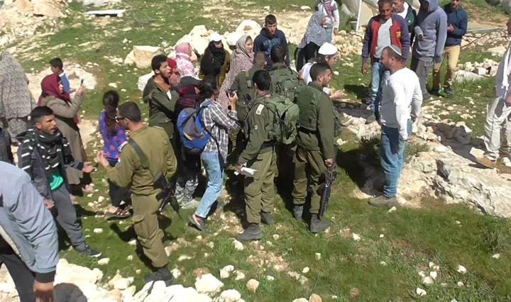 الاعتداءات على الطلبة الفلسطينيين في المناطق المعزولة